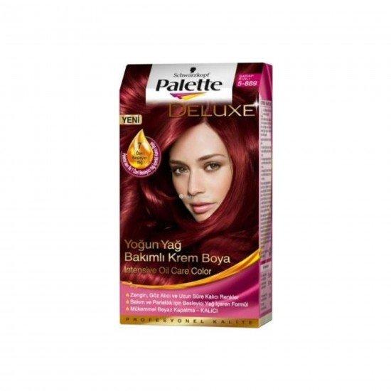 Palette Deluxe Saç Boyası 5-889 Şarap Kızılı