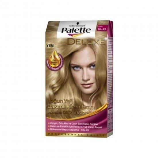 Palette Deluxe Saç Boyası 9-0 Sarı