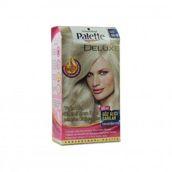 Palette Deluxe Yoğun Renk Saç Boyası 10.2 Platin Sarısı