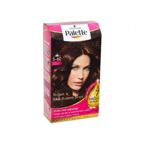 Palette Deluxe Yoğun Yağ Bakımlı Boya  5-60 Sıcak Çikolata