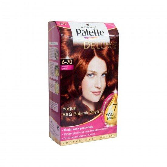 Palette Deluxe Yoğun Yağ Bakımlı Boya  6-70 Kahve Bakır