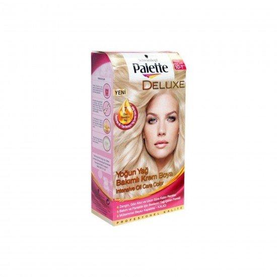 Palette Deluxe Yoğun Yağ Bakımlı Saç Boyası 10-1 Küllü Açık Sarı