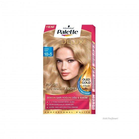 Palette Deluxe Yoğun Yağ Bakımlı Saç Boyası 10-5 Dore Sarı