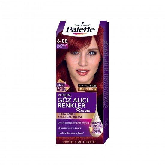 Palette Göz Alıcı Renkler 6-88 Yoğun Kızıl