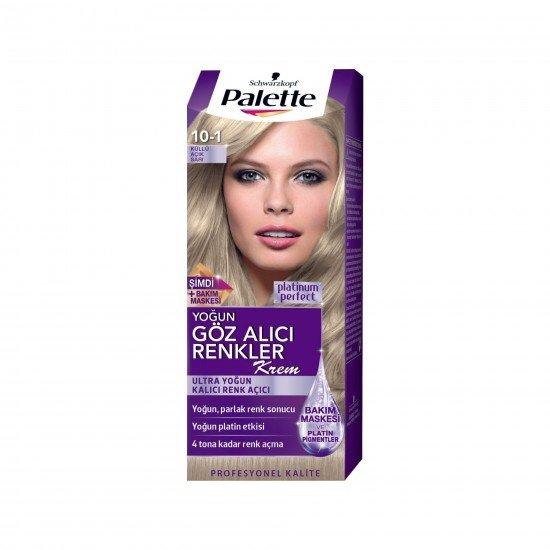 Palette Göz Alıcı Renkler Saç Boyası 10-1 Küllü Açık Sarı
