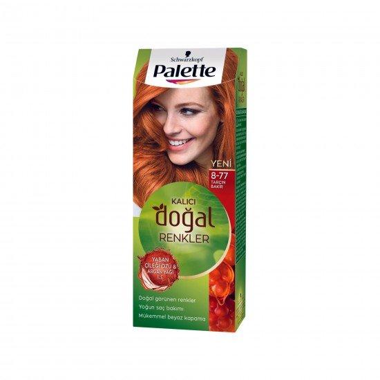 Palette Kalıcı Doğal Renkler Saç Boyası  8-77 Tarçın Bakır