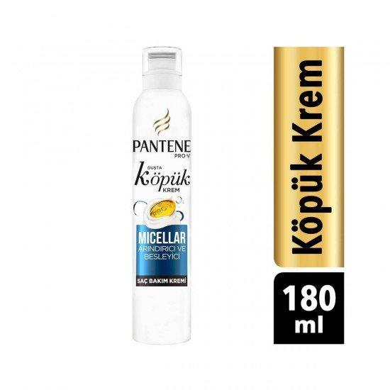 Pantene Pro-V Köpük Krem Micellar Arındırıcı ve Besleyici 180ml