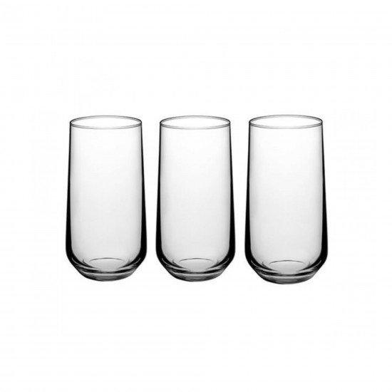Paşabahçe 420015 Allegra Uzun Su Bardağı 3Lü 470 CC