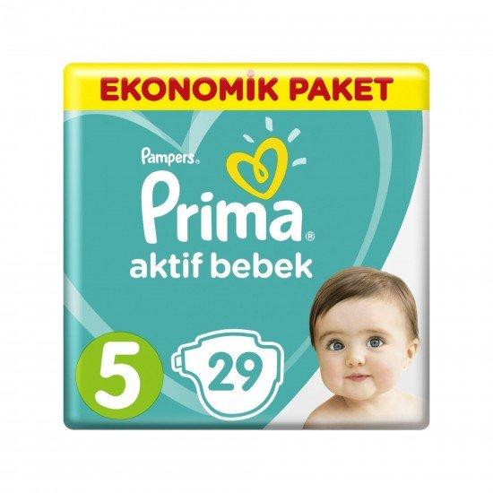 Prima Aktif Bebek Junior 5 Beden 29Lu Bebek Bezi