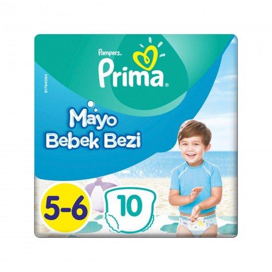 Prima Mayo Bebek Bezi 5-6 Beden 10 Adet Junior Tekli Paket