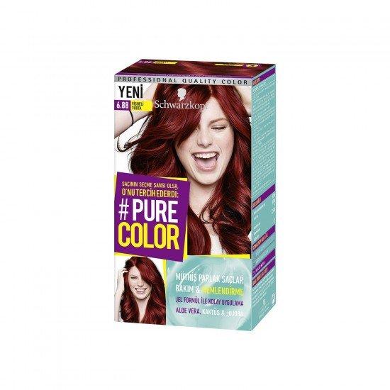 Pure Color 6.88 Vişneli Turta