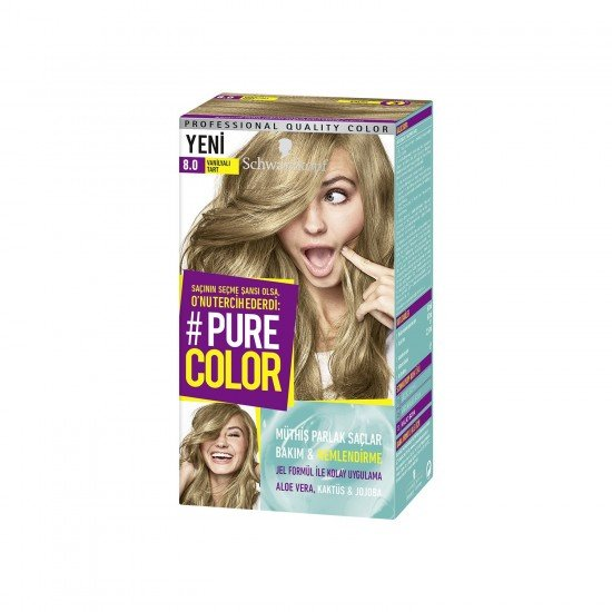 Pure Color 8-0 Vanilyalı Tart