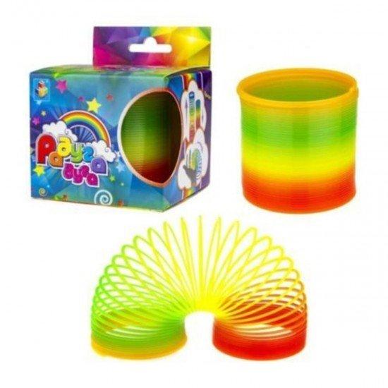 Rainboww Stres Yayı Çocuk Için Halka Yaylı Oyuncak