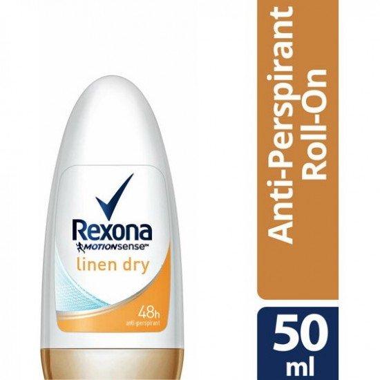 Rexona Deodorant Roll-On Linen Dry Women 50 Ml