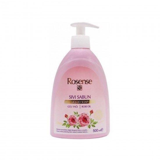 Rosense Gül Yağı Sıvı Sabun 500 Ml