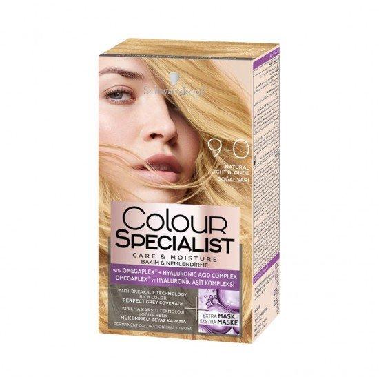 Schwarzkopf Colour Specialist Krem Saç Boyası 9.0 Doğal Sarı