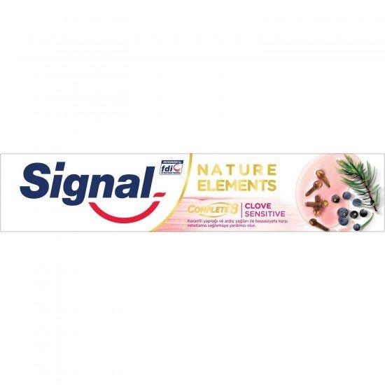 Signal Nature Elements Karanfil Özlü Diş Macunu 75 Ml