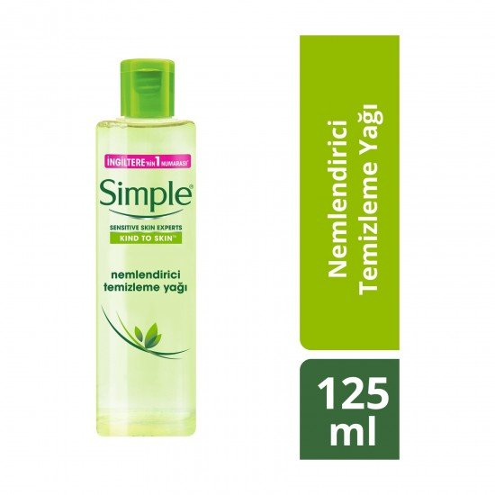 Simple Nemlendirici Temizleme Yağı 125 Ml