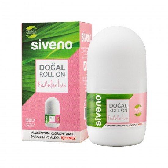 Siveno %100v Doğal Roll-On Kadınlar İçin 50 Ml