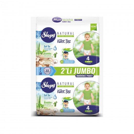 Sleepy Külot Bebek Bezi 4 Beden Maxi Bez 7 -14 kg 60 Adet