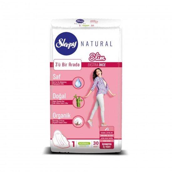 Sleepy Natural Slim Ekstra İnce Normal 30 Ped