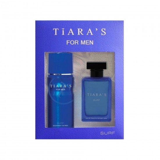 Tiaras Parfum Surf 100 Ml Parfüm + Surf 150 Ml Deodorant Set