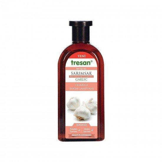 Tresan Şampuan Sarımsak Kokusuz Tüm Saç Tipleri 500 ML