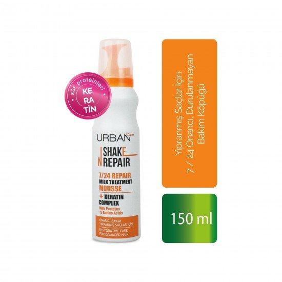 URBAN Care Shake N Repair 7/24 Repair Milk Treatment Mousse 150 Ml