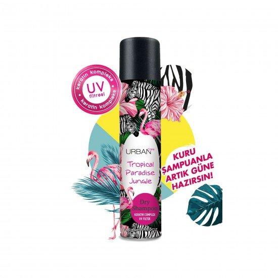 Urban Care Tropik Meyve ve Çiçek Kokusu ile Ferahlık Sağlayan Kuru Şampuan 200 ml