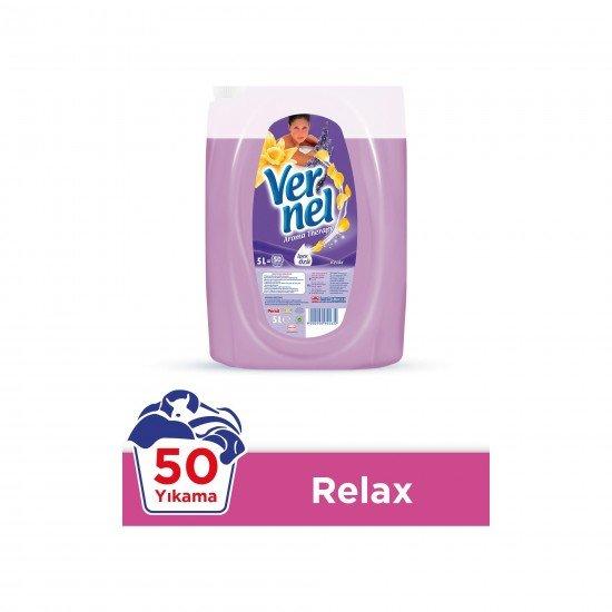 Vernel Çamaşır Yumuşatıcısı Aroma Therapy Relax 50 Yıkama 5 LT