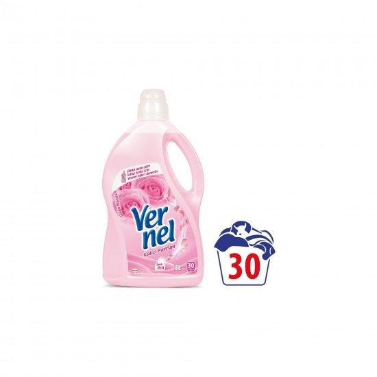 Vernel Çamaşır Yumuşatıcısı Gülün Büyüsü 30 Yıkama 3 LT
