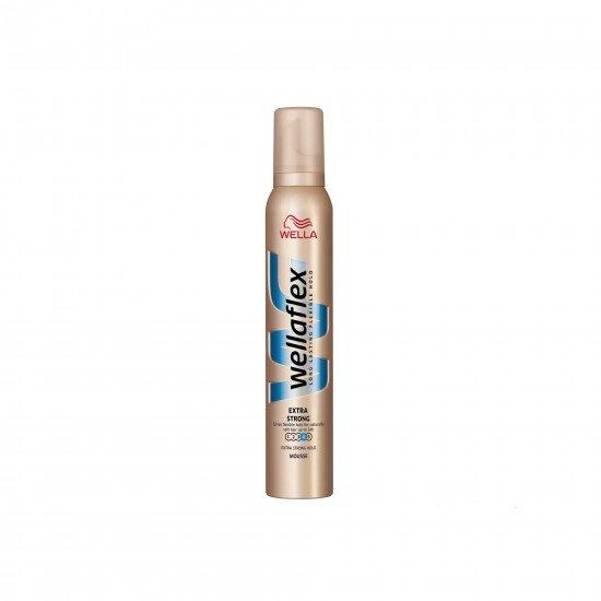 Wella Wellaflex Şekillendirici Saç Köpüğü Ekstra Güçlü Tutuş No 4 200 ml