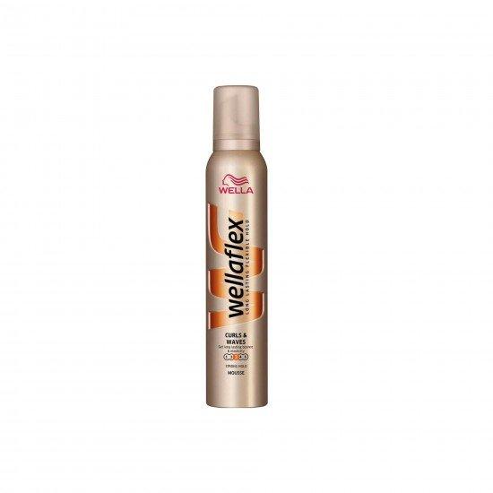 Wella Wellaflex Şekillendirici Saç Köpüğü Kıvırcık ve Dalgalı Saçlar No 3 200 ML
