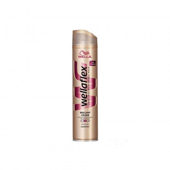 Wella Wellaflex Şekillendirici Saç Spreyi 3 Numara Parlak Renkler 250 ML