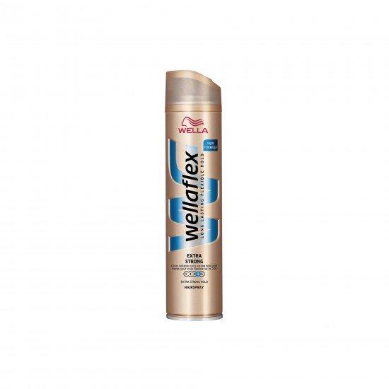 Wella Wellaflex Şekillendirici Saç Spreyi No 4 Ekstra Güçlü 250 ML
