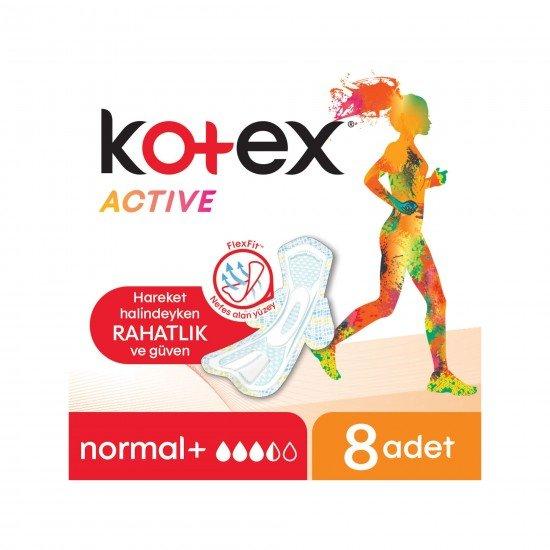 Kotex Active Normal Ped 8 Adet