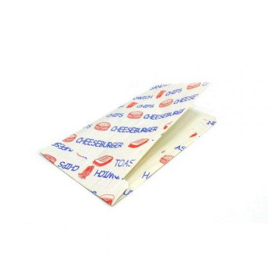 Sandviç Kese Kağıdı Baskılı 12 x 24 Cm 1 Kg