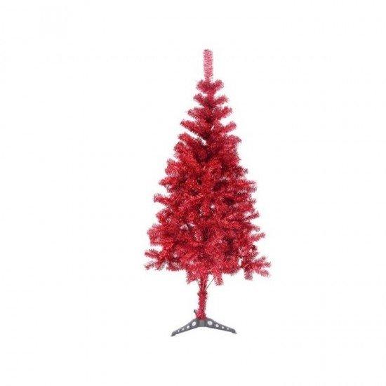 Yılbaşı Ağacı Kırmızı Küçük Boy 60 Cm