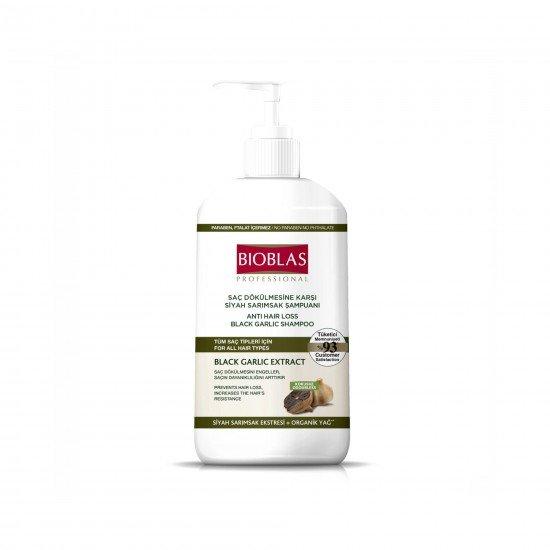 Bioblas Şampuan Saç Dökülmesine Karşı Siyah Sarımsak 1000 ML