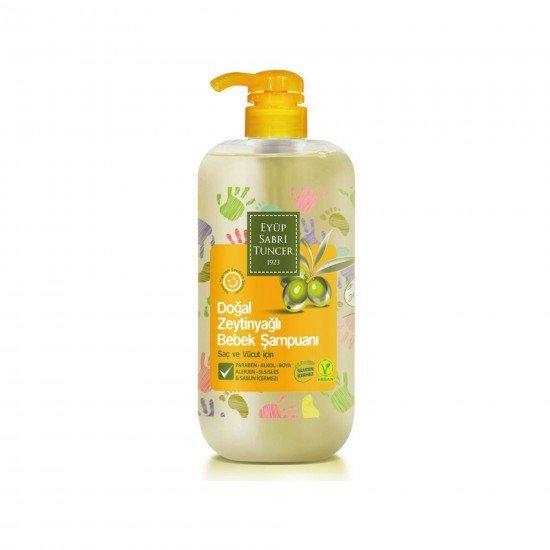 Eyüp Sabri Tuncer Doğal Zeytinyağlı Bebek Şampuanı 600 ML