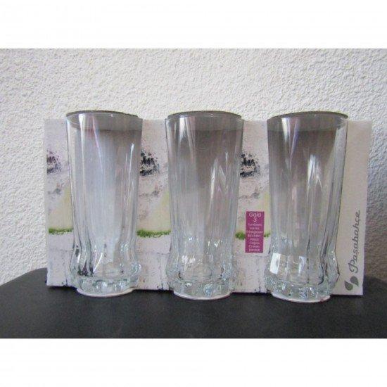 Paşabahçe Gaıa 420755 Meşrubat Bardağı 3'lü 285 Cc