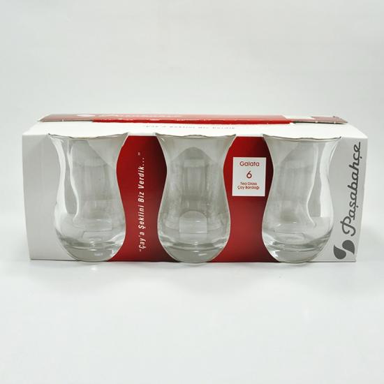 Paşabahçe Galata Çay Bardağı 6lı 172cc (42611)
