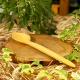 El Yapımı Doğal Şimşir Yemek Kaşığı 20 Cm
