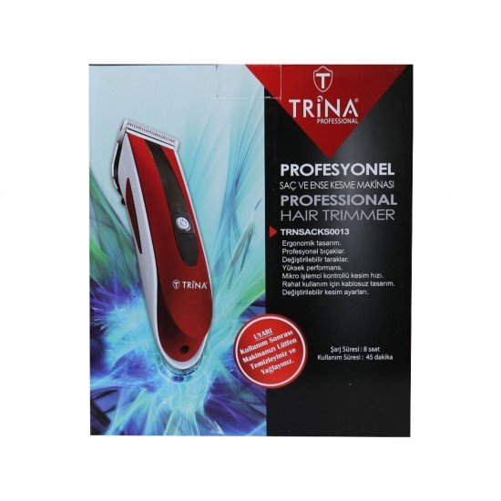 Trina Profesyonel Saç ve Ense Kesme Makinası 0013