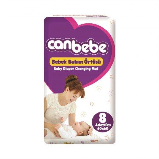 Canbebe Bebek Bakım Örtüsü 8li