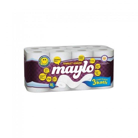 Maylo 3 Katlı Tuvalet Kağıdı 16lı