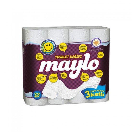 Maylo 3 Katlı Tuvalet Kağıdı 32li