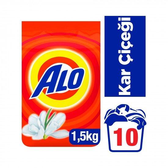 Alo Matik Toz Çamaşır Deterjanı Kar Çiçeği 1.5 kg