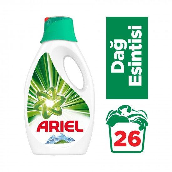 Ariel Sıvı Çamaşır Deterjanı Dağ Esintisi - 26 Yıkama 1,7 lt