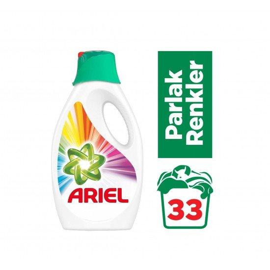 Ariel Sıvı Çamaşır Deterjanı Parlak Renkler 2,145 lt